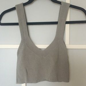 Wilfred Tops - Wilfred Knit Crop Top